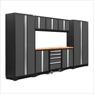 BOLD Series 3.0 Grey 9-Piece Set with Bamboo Top