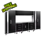 NewAge Products PERFORMANCE 2.0 Black 9-Piece Cabinet Set