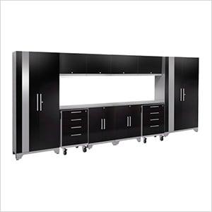 PERFORMANCE 2.0 Black 12-Piece Cabinet Set