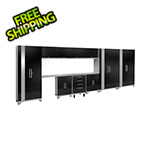 NewAge Garage Cabinets PERFORMANCE 2.0 Black 12-Piece Cabinet Set