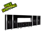 NewAge Products PERFORMANCE 2.0 Black 14-Piece Cabinet Set with LED Lights