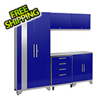 NewAge Products PERFORMANCE 2.0 Blue 6-Piece Cabinet Set
