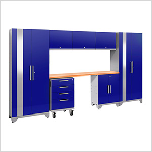 PERFORMANCE 2.0 Blue 8-Piece Cabinet Set