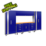 NewAge Products PERFORMANCE 2.0 Blue 9-Piece Cabinet Set