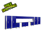NewAge Products PERFORMANCE 2.0 Blue 16-Piece Cabinet Set