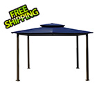 Paragon Outdoor 10 x 12 ft. Santa Fe Gazebo (Navy Canopy)