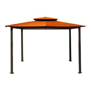 10 X 12 Ft. Santa Fe Gazebo (rust Canopy)