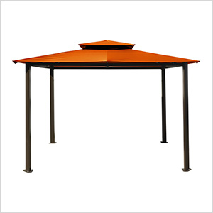 10 x 12 ft. Santa Fe Gazebo (Rust Canopy)