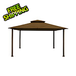 Paragon Outdoor 11 x 14 ft. Barcelona Gazebo (Cocoa Canopy)