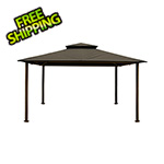 Paragon Outdoor 11 x 14 ft. Barcelona Gazebo (Grey Canopy)