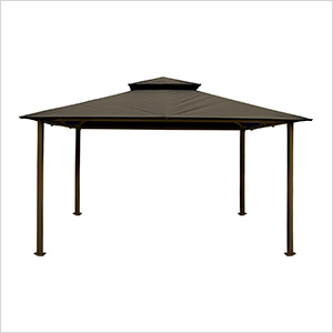 11 x 14 ft. Barcelona Gazebo (Grey Canopy)