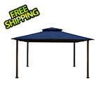 Paragon Outdoor 11 x 14 ft. Barcelona Gazebo (Navy Canopy)
