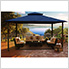 11 x 14 ft. Barcelona Gazebo (Navy Canopy)