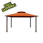 Paragon Outdoor 11 x 14 ft. Barcelona Gazebo (Rust Canopy)