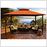 11 x 14 ft. Barcelona Gazebo (Rust Canopy)