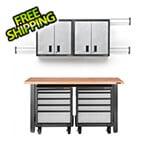 Gladiator GarageWorks 8-Piece Premier Garage Cabinet Set