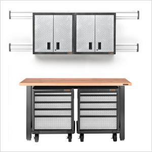 8-Piece Premier Garage Cabinet Set