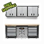Gladiator GarageWorks 12-Piece Premier Garage Cabinet System