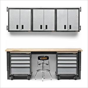 12-Piece Premier Garage Cabinet System