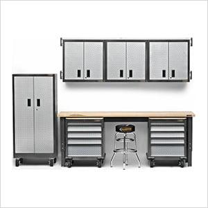13-Piece Premier Garage Cabinet System