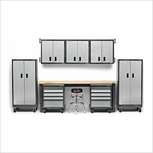 14-Piece Premier Garage Cabinet System