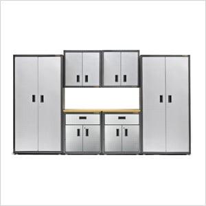 8-Piece RTA Garage Cabinet Set