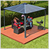 10' x 10' Palermo 3000 Gazebo (Grey / Bronze)