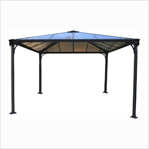 12' x 12' Palermo 3600 Gazebo (Grey / Bronze)