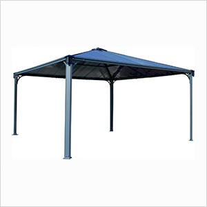 14' x 14' Palermo 4300 Gazebo (Grey / Bronze)