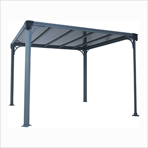 10' x 10' Milano 3000 Gazebo (Grey / Bronze)