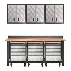 11-Piece Premier Garage Tool Storage System