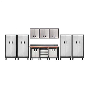15-Piece Garage Cabinet Organizer Set