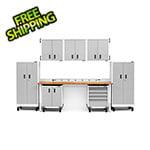 Gladiator GarageWorks 14-Piece White Garage Cabinet System