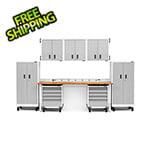 Gladiator GarageWorks 14-Piece White Garage Cabinet Set