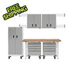 Gladiator GarageWorks 11-Piece White Garage Cabinet Set