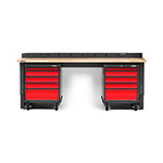 Gladiator GarageWorks 4-Piece Red Premier Garage Workbench System