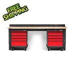 Gladiator GarageWorks Premier 4-Piece Red Garage Workbench System