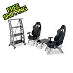 PitStop Furniture 4-Piece Racing Furniture Set