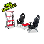 Pitstop Furniture 4-Piece Racing Furniture Set