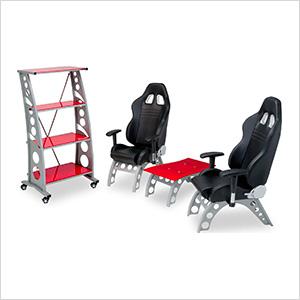 4-Piece Racing Furniture Set