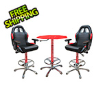 Pitstop Furniture 3-Piece Racing Bar Furniture Set
