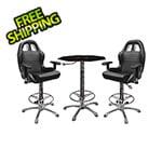 PitStop Furniture 3-Piece Racing Bar Furniture Set