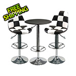 PitStop Furniture 3-Piece Bar Furniture Set
