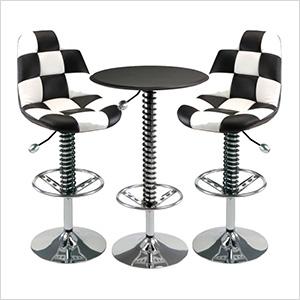 3-Piece Bar Furniture Set