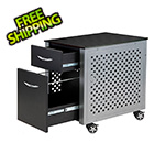 Pitstop Furniture File Cabinet (Carbon Fiber)