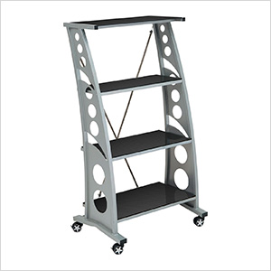 Chicane Bookshelf (Carbon Fiber)