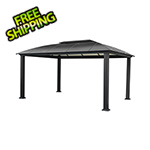 Paragon Outdoor 12 x 16 ft. Siena XL Hard-Top Dome Gazebo