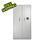 Mesa Safe Company Double Door Pharmacy Safe (White)