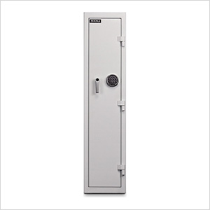 Single Door Pharmacy Safe (White)