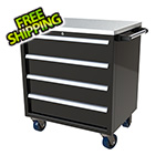 Moduline 4-Drawer Black Aluminum Toolbox